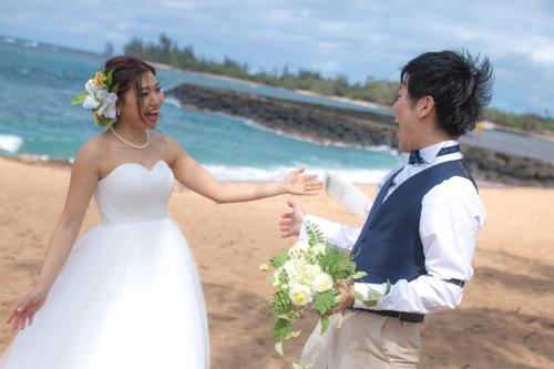 ハワイでの結婚式の風景3つ目