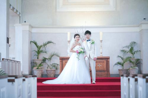 ハワイでの結婚式の風景7つ目