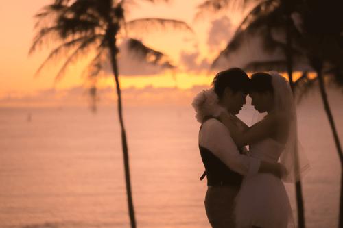 ハワイでの結婚式の風景6つ目
