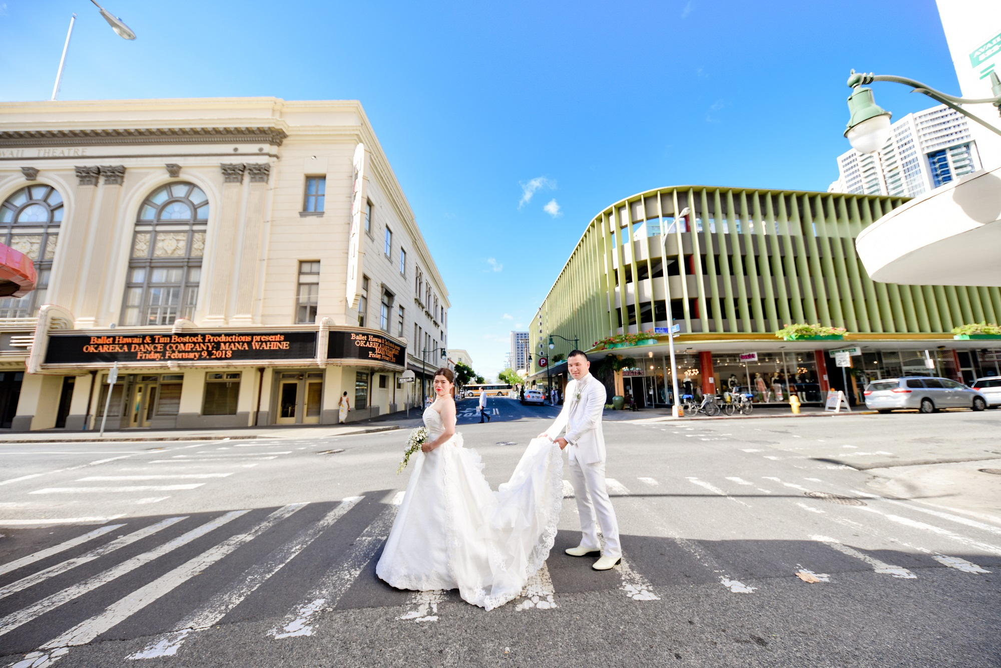ハワイでの結婚式の風景8つ目